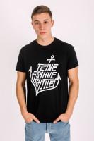 T-Shirt Anker Schwarz