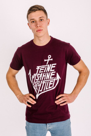 T-Shirt Anchor Burgundy