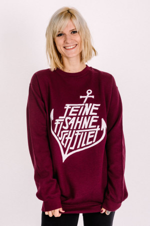 Crewneck Anchor Maroon