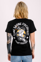 T-Shirt Fight Fascism Black Fitted