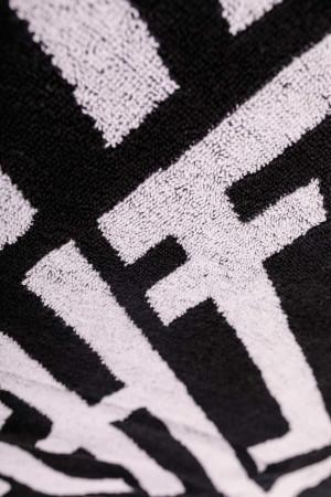 Towel Anchor Black