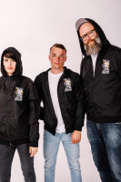 Windbreaker Fight Fascism Schwarz