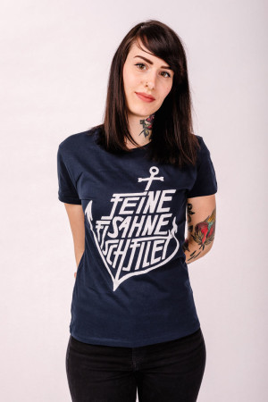 T-Shirt Anker French Navy Fitted
