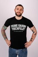 T-Shirt College Schwarz Unisex