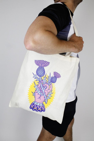Bag Distel Nature